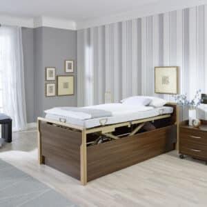 LIPPE IV Bett im Bettsystem