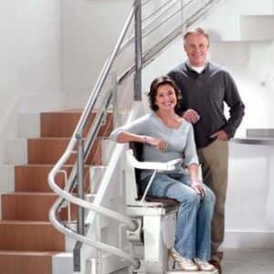 Treppenliftanlagen für innen